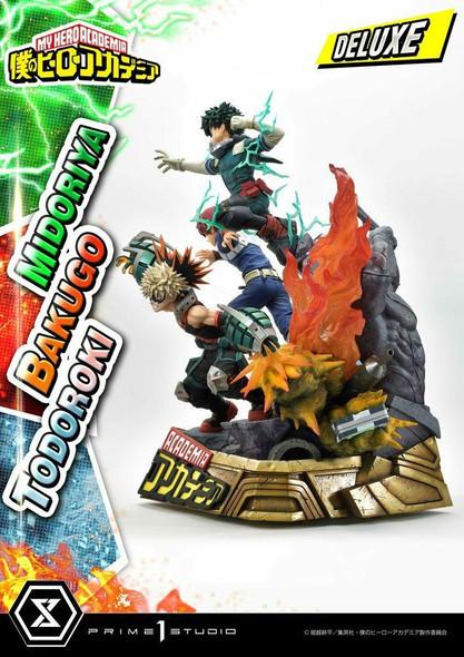 Prime 1 Studio Prime 1 My Hero Academia Statue Midoriya, Bakugo and Todoroki Deluxe Bonus 69 cm