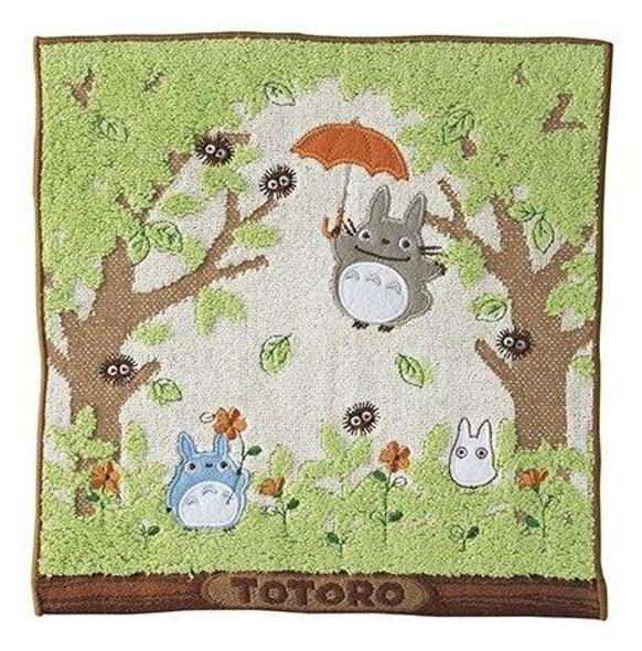 Marushin Marushin Studio Ghibli My Neighbor Totoro Mini Towel Shade of the Tree 25 x 25 cm