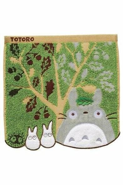 Marushin Marushin Studio Ghibli My Neighbor Totoro Mini Towel Acorn Tree 25 x 25 cm