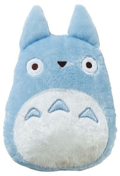Marushin Marushin Studio Ghibli My Neighbor Totoro Plush Cushion Blue Totoro 33 x 29 cm