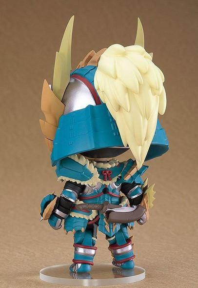 Capcom Nendoroid Monster Hunter World Iceborne Hunter Male Zinogre Alpha Armor Ver DX Action Figure