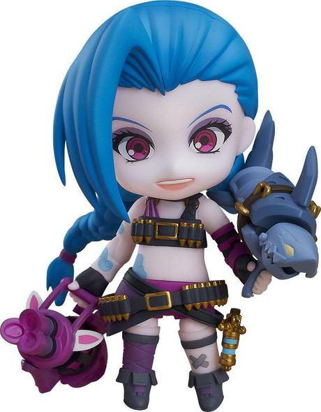 Good Smile Company Good Smile Company Nendoroid 1535 League of Legends Jinx Figure