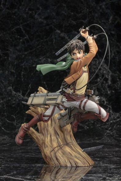Kotobukiya Kotobukiya ARTFX-J Attack on Titan Shingeki No Kyojin Eren Yeager 1/8 Figure