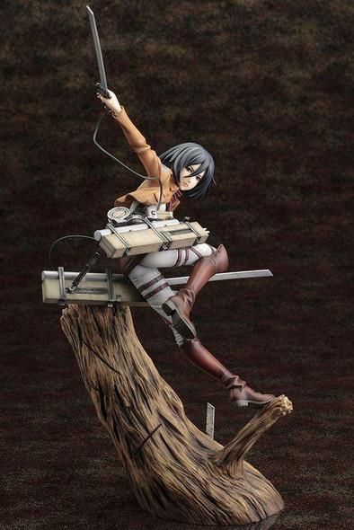 Kotobukiya Kotobukiya ARTFX-J Attack on Titan Shingeki No Kyojin Mikasa Ackerman 1/8 Figure