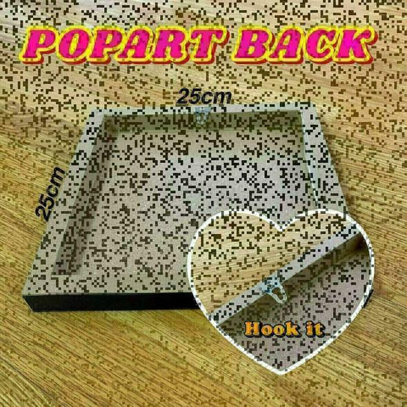 World Famous POPART Famous POP ART Alan Shearer Footballs not just about scoring goals its about winning Canvas Frame