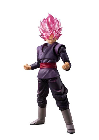 Bandai Tamashii Bandai SH Figuarts Dragon Ball Super Goku Black Super Saiyan Rose Action Figure