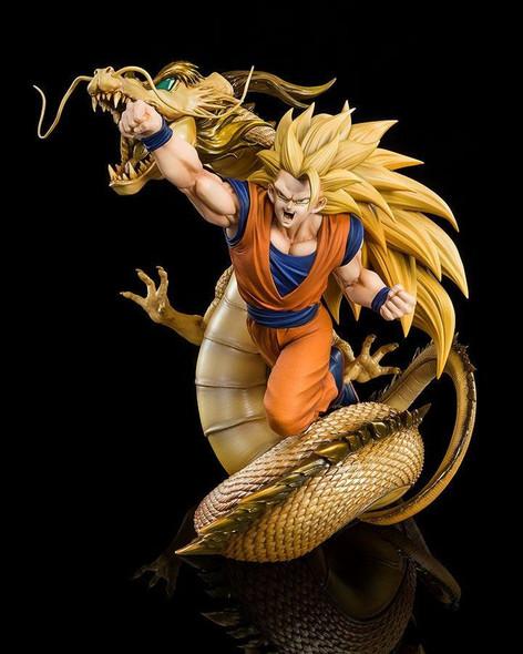 Bandai Tamashii Bandai FiguartsZERO Dragon Ball Super Goku Extra Battle Super Saiyan 3 Figure