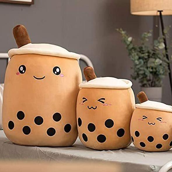 EA-COS BOBA TEA Bubble Milk Tea Pillow Cushion Plush Original Kawaii Smile