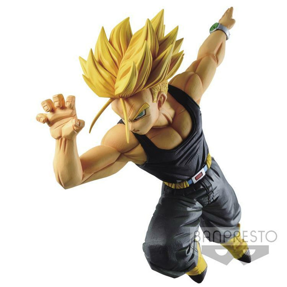 Bandai Spirits Banpresto Dragon Ball Super Match Maker Super Saiyan Trunks Figure