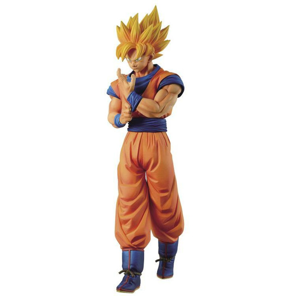 Bandai Spirits Banpresto Dragon Ball Z Solid Edge Works Super Saiyan Goku Vol 1 Figure