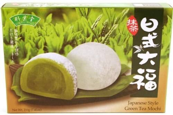 Bamboo House Bamboo House Matcha Green Tea Mochi - 210 g