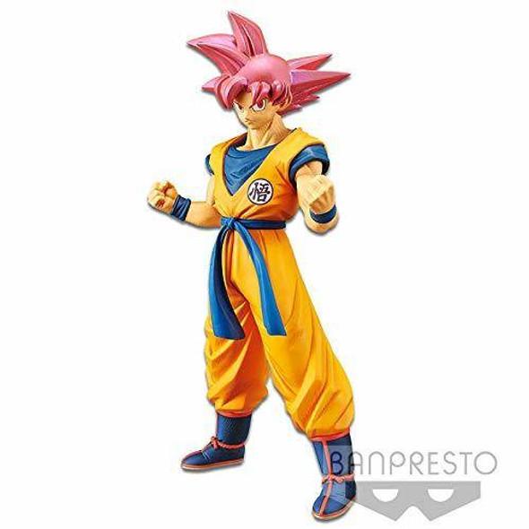 Banpresto Banpresto Dragon Ball Super Saiyan God Goku Figure