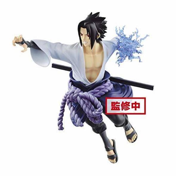 Banpresto Banpresto Naruto Shippuden Uchiha Sasuke Vibration Stars Figure