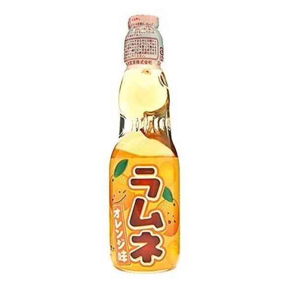 Hatakosen Hatakosen Ramune Soda - Orange Flavour