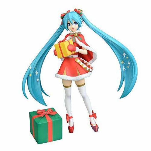 SEGA SEGA Hatsune Vocaloid Miku Hatsune Super Premium Christmas 2019 Figure