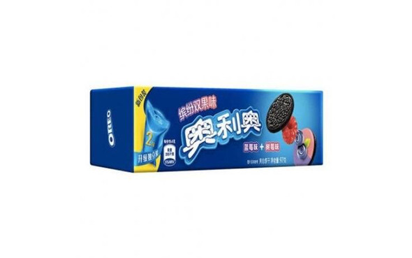 Oreo Oreo Blueberry and Raspberry Flavour Biscuit Cookie