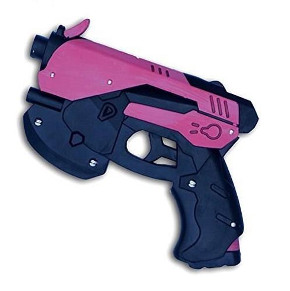 EA-SWORD Overwatch DVA Replica Cosplay Foam Handgun Weapon