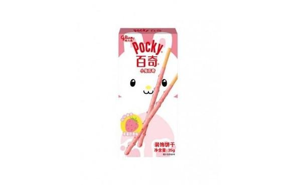 Glico Pocky Glico Pocky Bunny Strawberry Flavour Biscuit Sticks