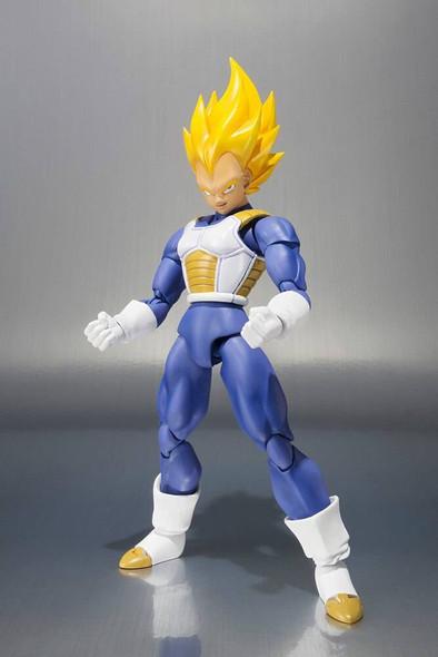 Bandai Tamashii Bandai SH Figuarts Dragon Ball Vegeta Super Saiyan Premium colour Action Figure