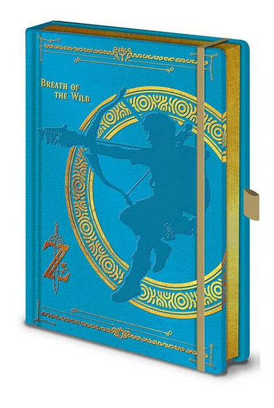 Pyramid International Officially Licensed The Legend Of Zelda Breath Of The Wild Premium A5 Blue Notebook