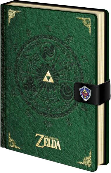 Pyramid International Officially Licensed The Legend Of Zelda Medallion Premium A5 Green Notebook