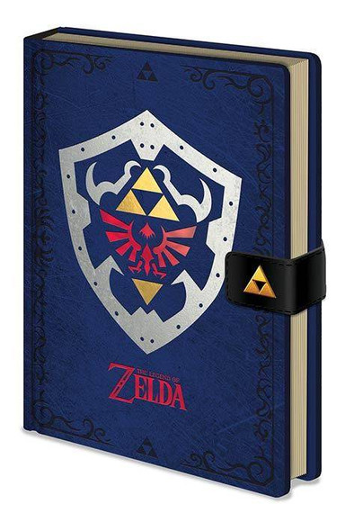 Pyramid International Officially Licensed The Legend Of Zelda Hylian Shield Premium A5 Green Notebook