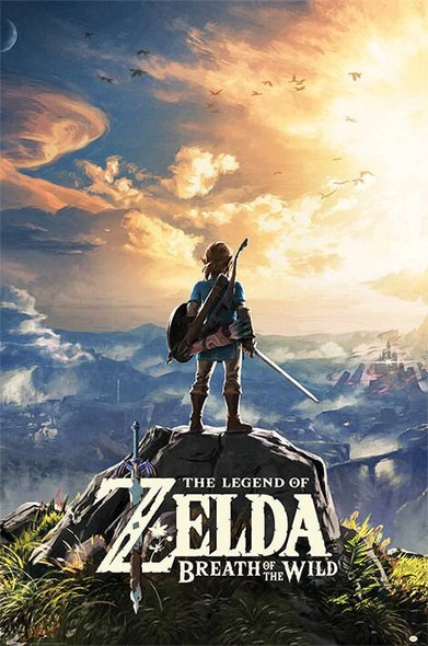 Pyramid International Officially Licensed The Legend Of Zelda Breath Of The Wild Sunset 61 x 91.5cm Poster
