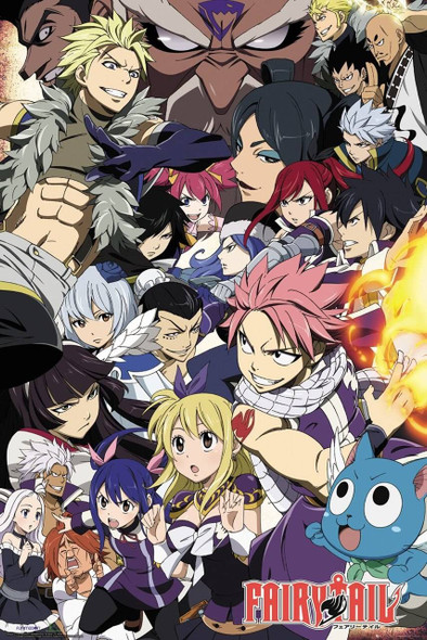 GB Eye Officially Licensed Fairy Tail 61 x 91.5cm Poster