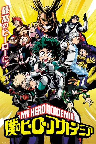 GB Eye Officially Licensed My Hero Academia Season one 61 x 91.5cm Poster