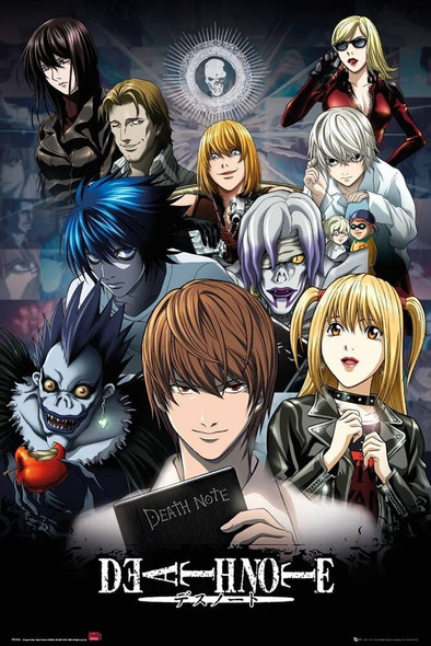 GB Eye Officially Licensed Death Note Poster 61 x 91.5cm Poster