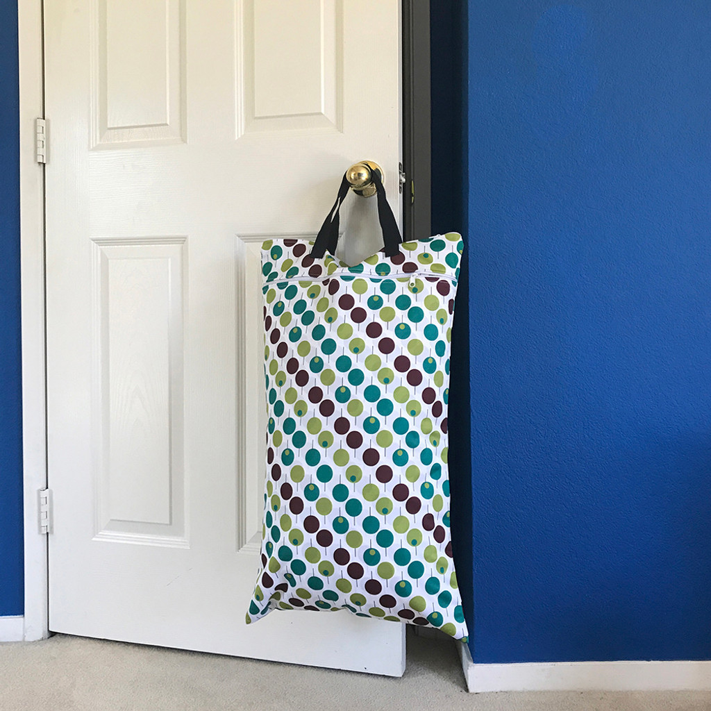 Ecoable - Large Wet Bag for Cloth Diapers and Laundry Storage