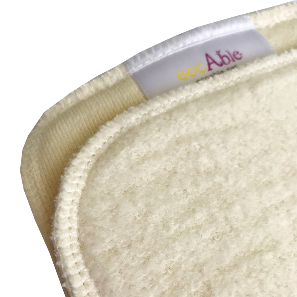 ECOABLE - Hemp / Cotton Inserts for Baby Cloth Diapers