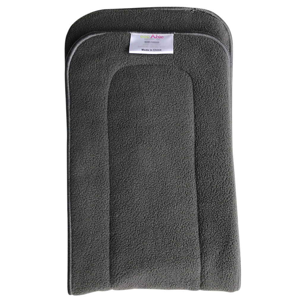 Ecoable - Teen / Adult Charcoal Bamboo Inserts for Cloth Diapers