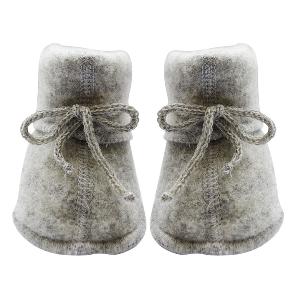 Engel Baby Ultra Warm Booties Socks, 100% Organic Wool Fleece