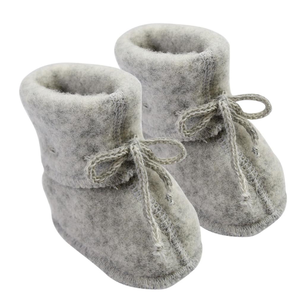 Engel Baby Ultra Warm Booties Socks, 100% Organic Wool Fleece