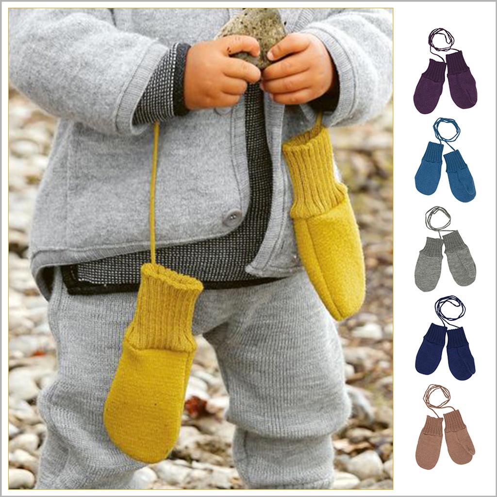 Disana - Toddler and Kids Mittens: 100% Organic Merino Wool, 5 months - 5 years