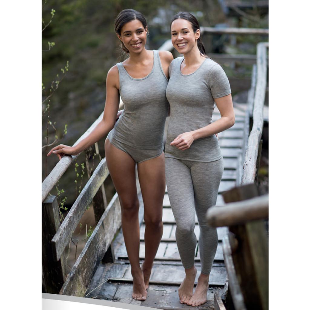 Engel - Women's Thermal Panties Briefs, Moisture Wicking 70% Merino Wool 30% Silk