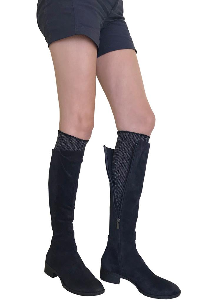 Hirsch Natur - 100% Organic Virgin Wool Knee High Socks for Women