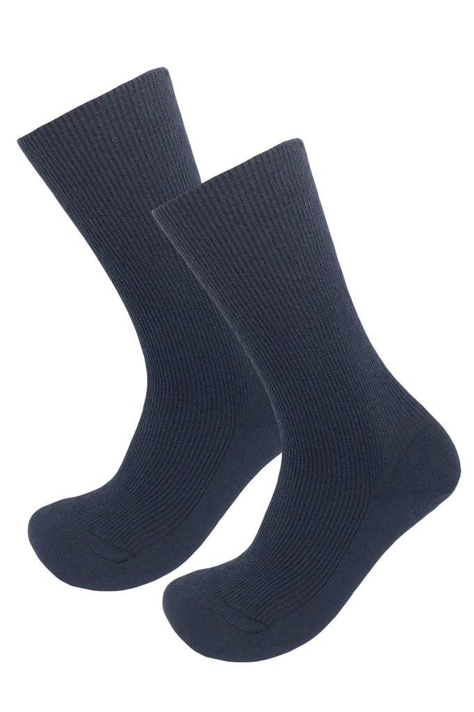 Hirsch Natur - Organic Wool Cotton Blend Dress Socks, Sizes 6-11.5 for Men and Women