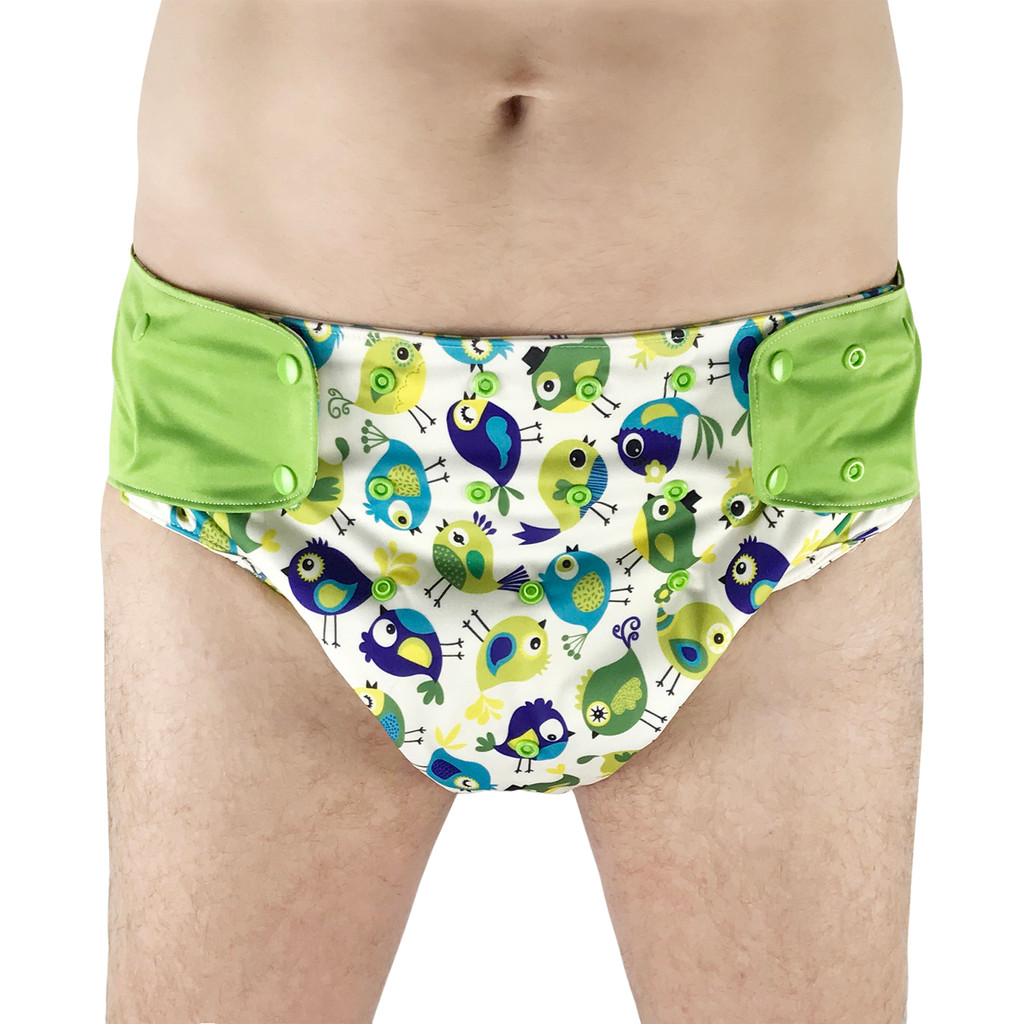 EcoAble - Cloth Diaper Cover - Reusable Special Needs Incontinence Briefs for Big Kids, Teens and Adults