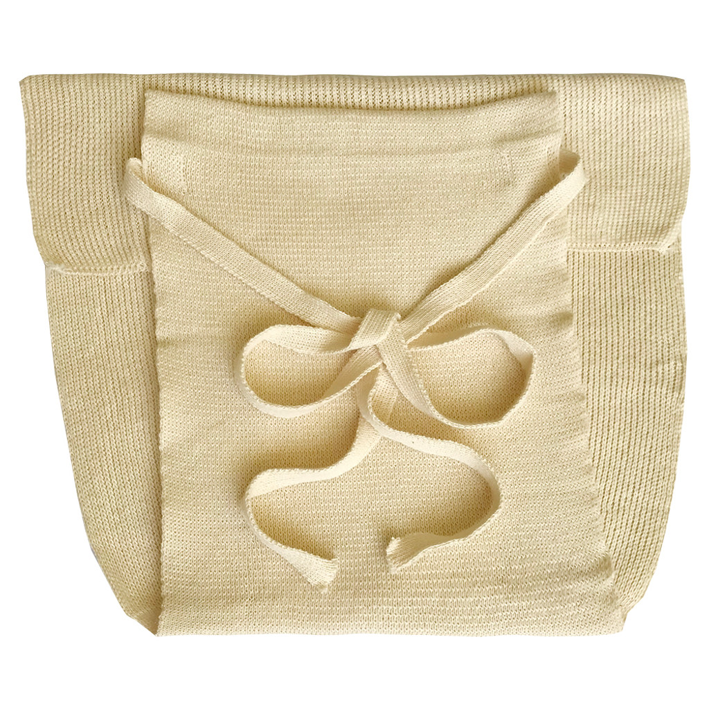 DISANA - Fitted Cloth Diaper for Baby and Toddler, 100% Organic Cotton