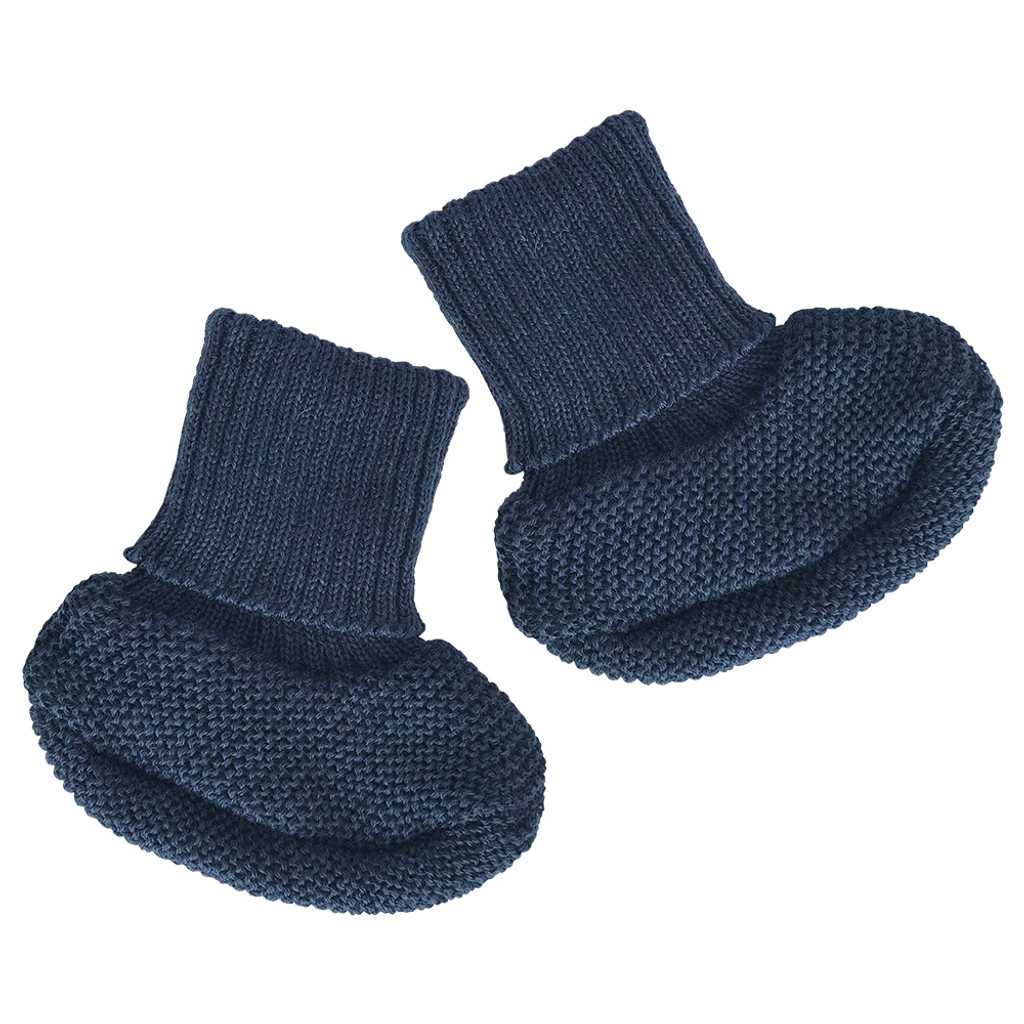 REIFF - Infant Baby Warm Booties Socks, 100% Organic Merino Wool
