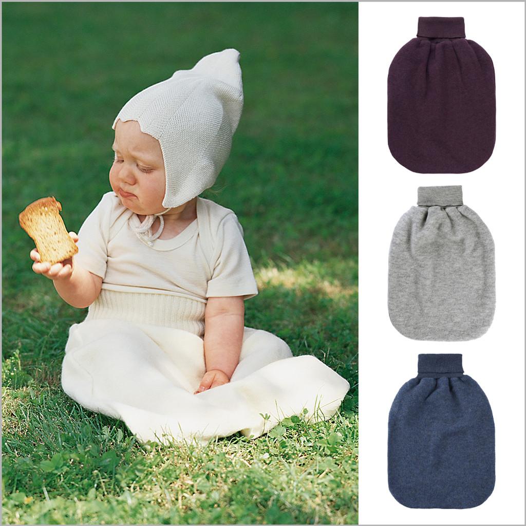 ENGEL - Newborn Baby Wearable Blanket Sleeping Bag, 100% Organic Merino Wool Fleece, 0-6 Months
