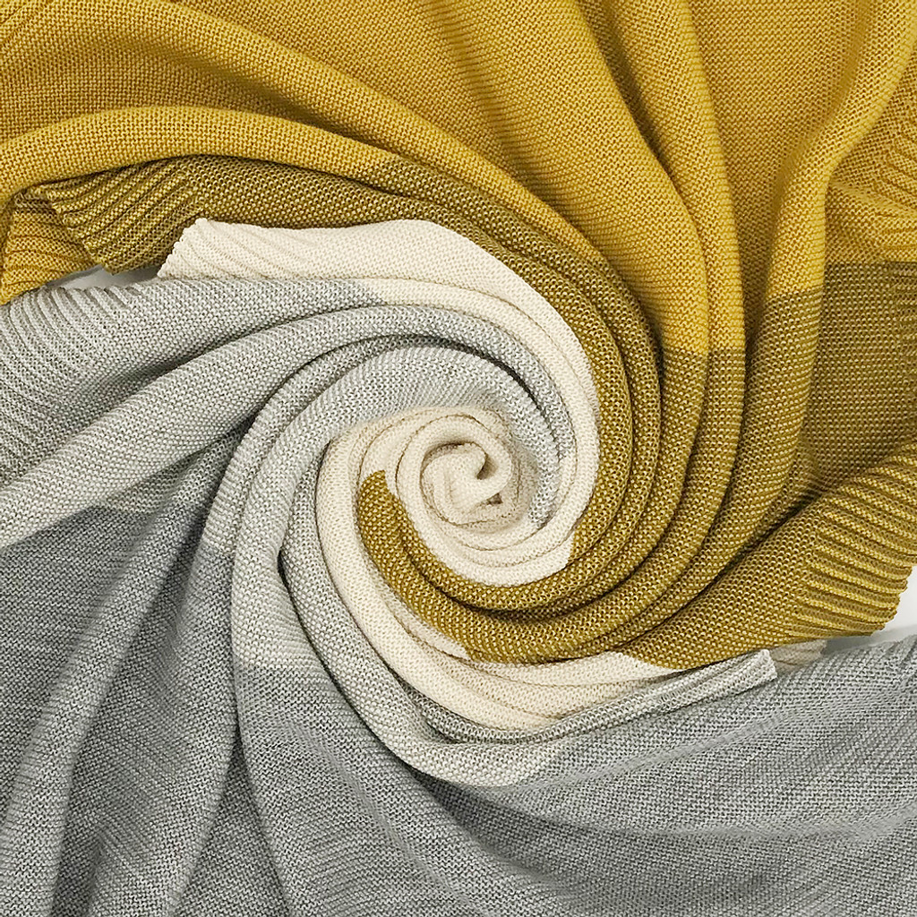 Warm Thermal Receiving Baby Blanket, 100% Merino Wool, 31x40 inches
