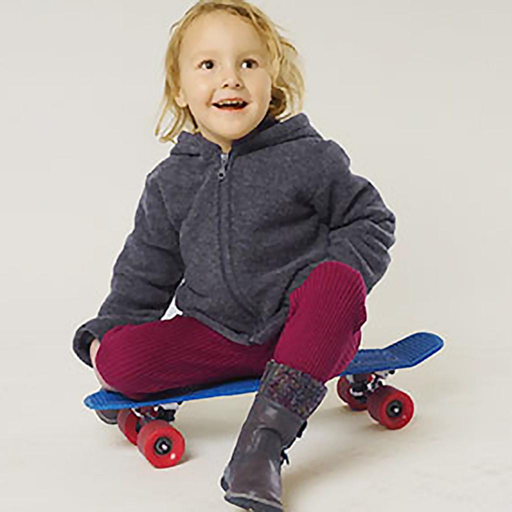 REIFF - Kids and Baby Winter Leggings Pants, 100% Organic Merino Wool
