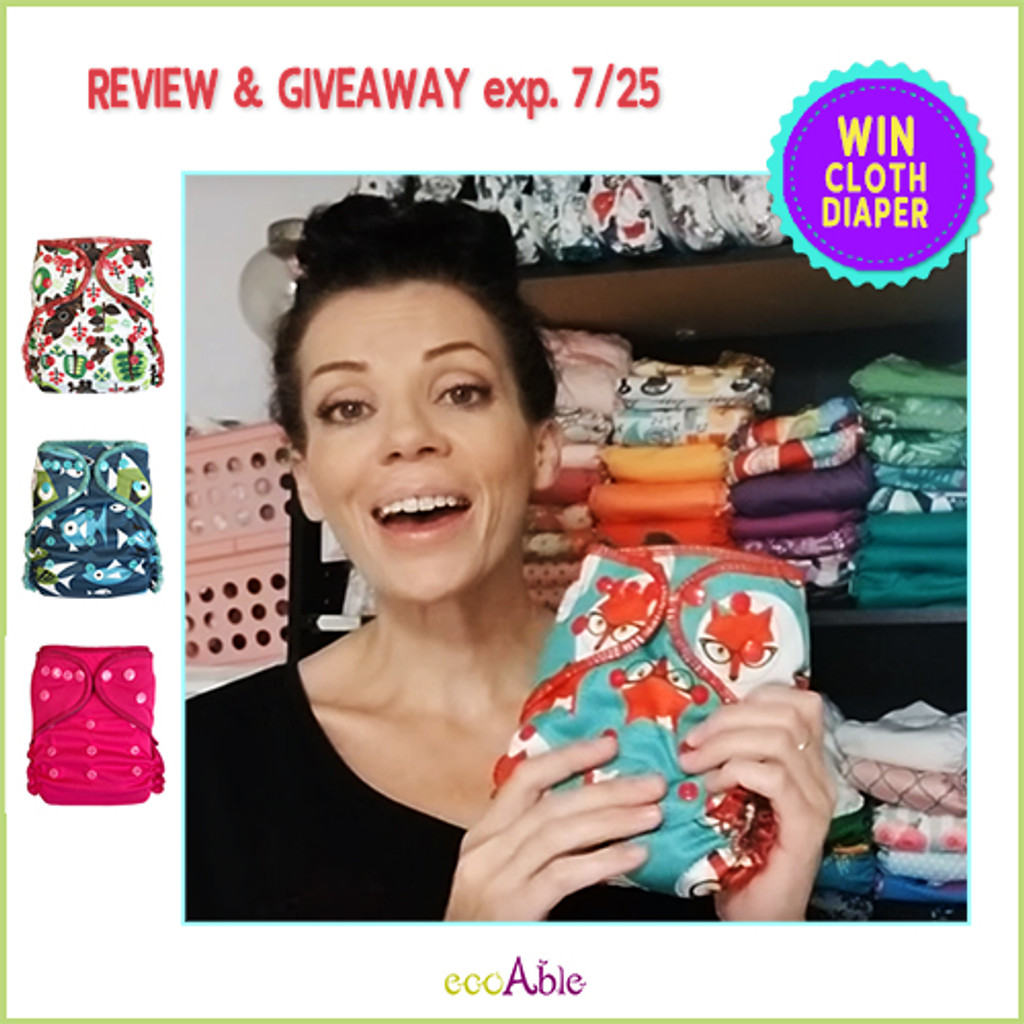 Video Review Ecoable All In Two Cloth Diaper By Jess Is Blessed