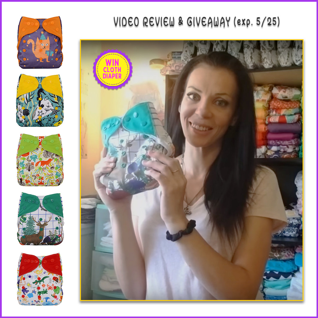 Video Review Ecoable Cloth Diaper Cover With Prefold And Insert By Jess Is Blessed
