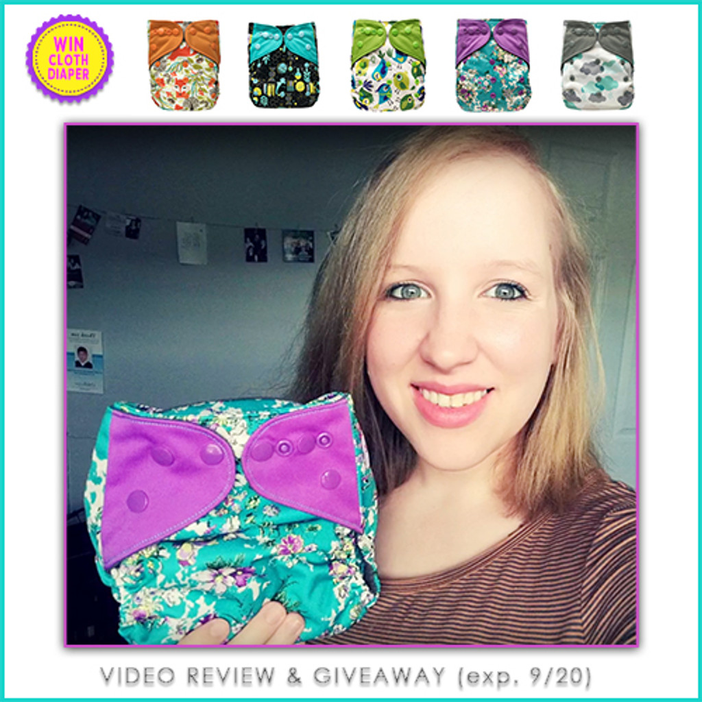 Video Review Ecoable Pocket Cloth Diaper By Watts Up Mom