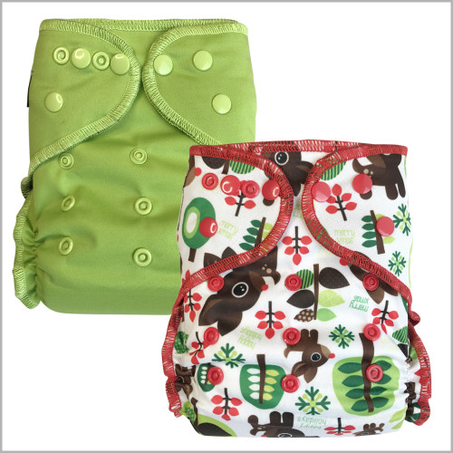 Ecoable - One Size All-In-Two Hybrid Cloth Diaper