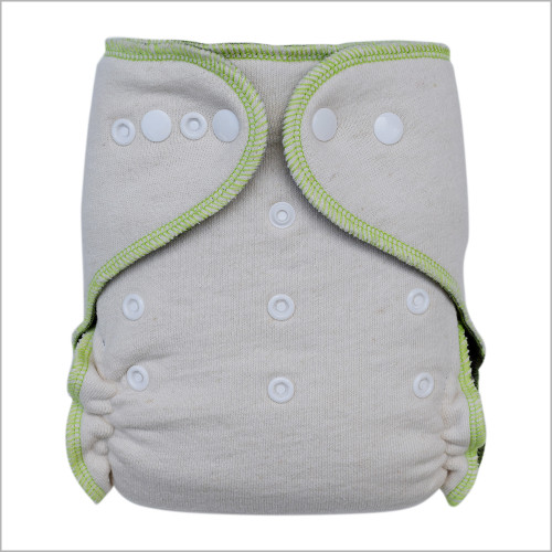 Ecoable - Stay-Dry Hemp Night Fitted Cloth Diaper, One Size